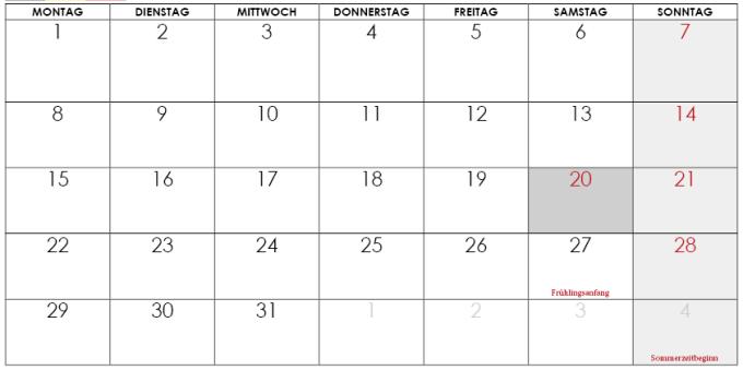 kalender märz 2021 belgien