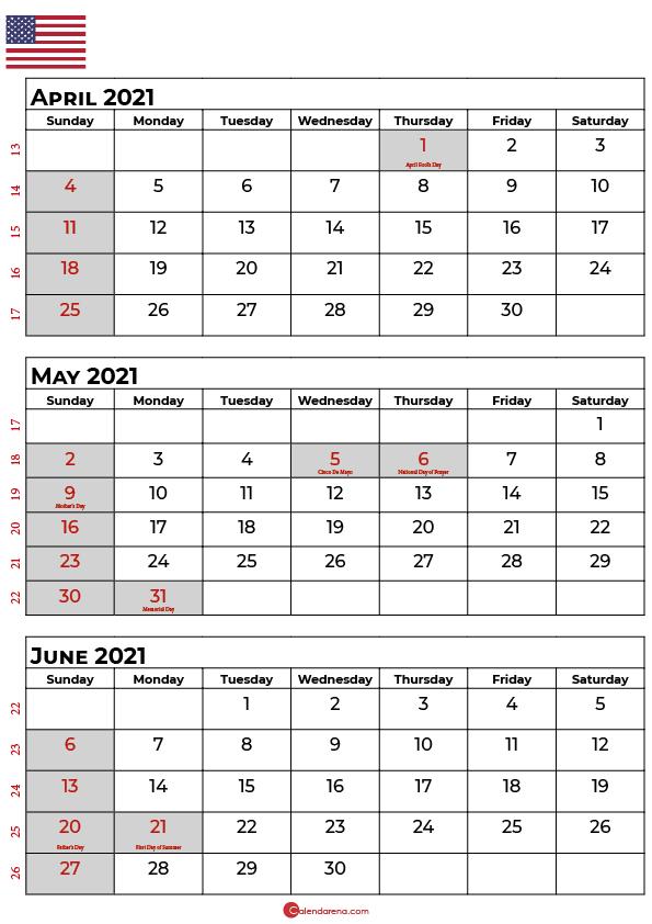 april may june 2021 calendar_portrait