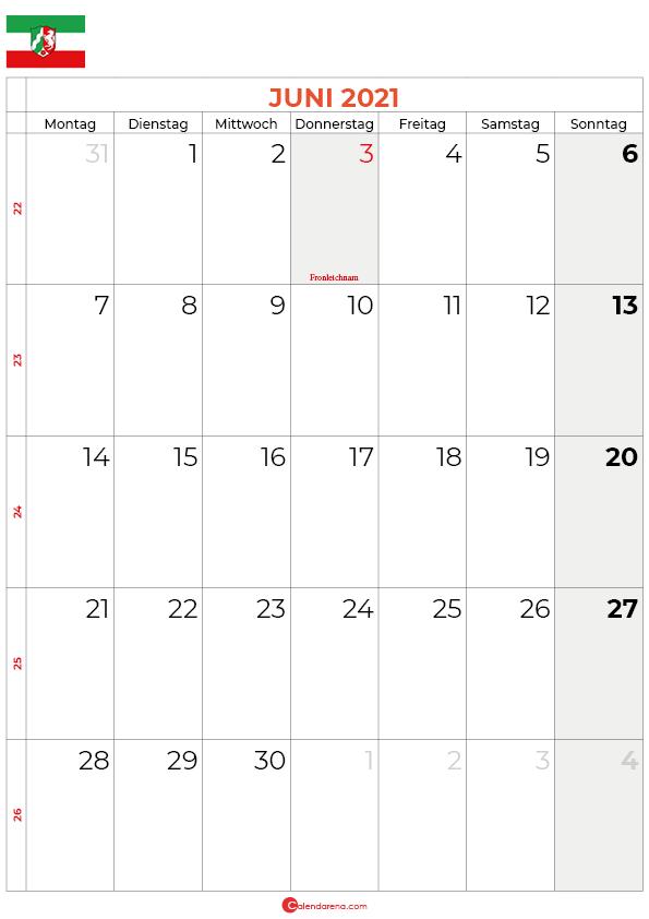 2021-juni-kalender-Nordrhein-Westfalen