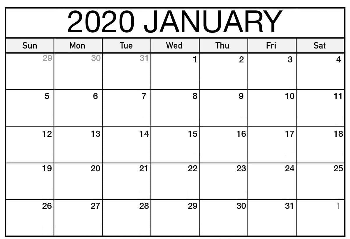 Get Vertex 2020 Calendars Monday Through Sunday | Calendar ...