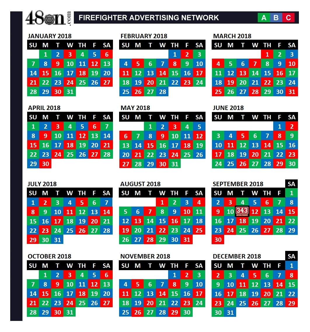 Days Of The Week Calendar Template