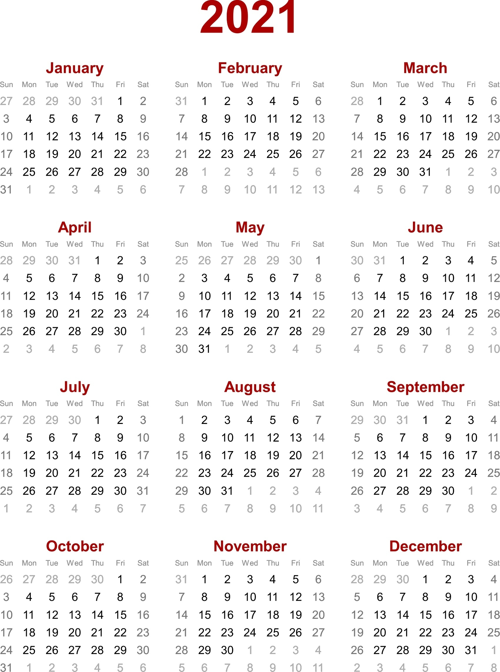 May Calendars For 2019 2020 2021 And 2022 - Calendar ...
