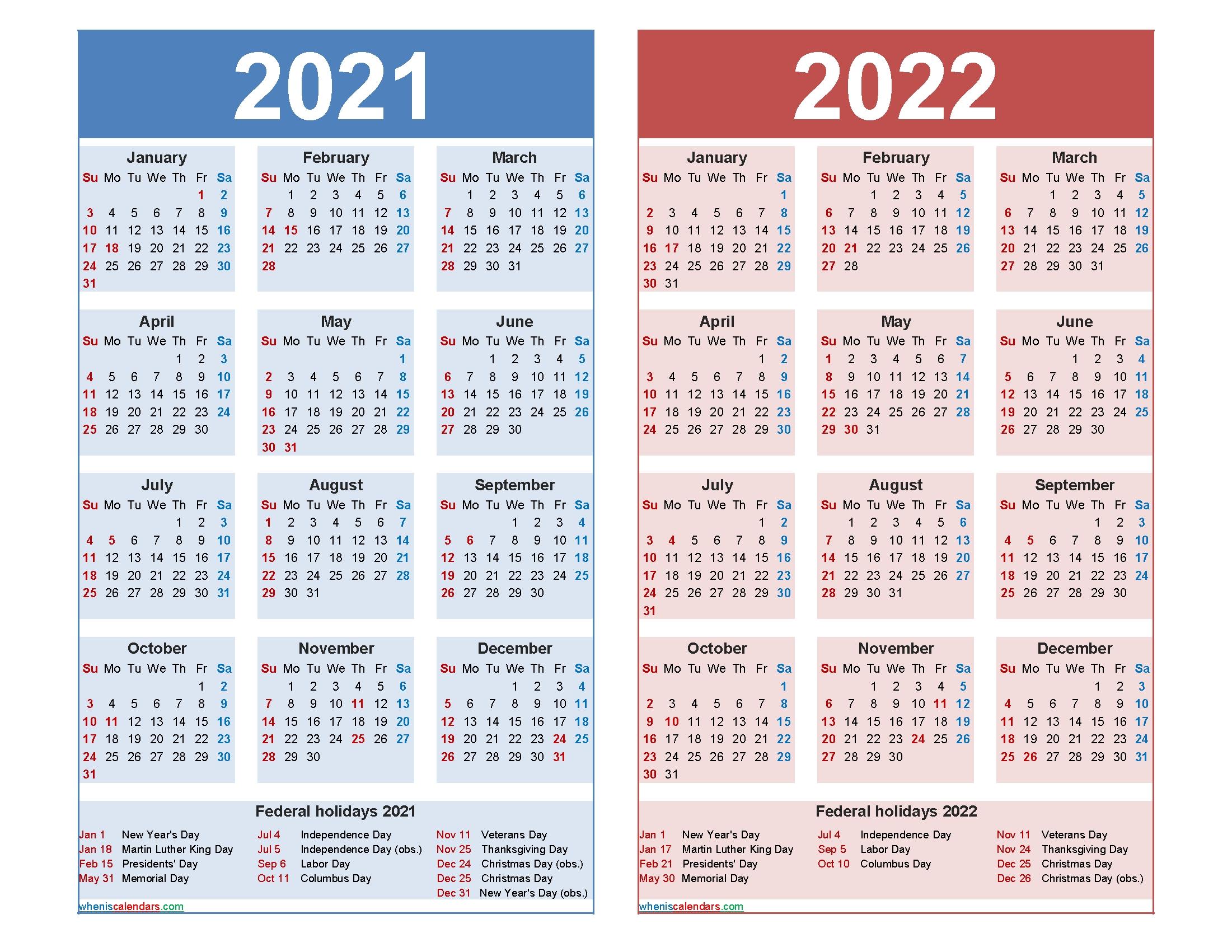 2020 2021 2022 Calendar Printable - Calendar Inspiration ...