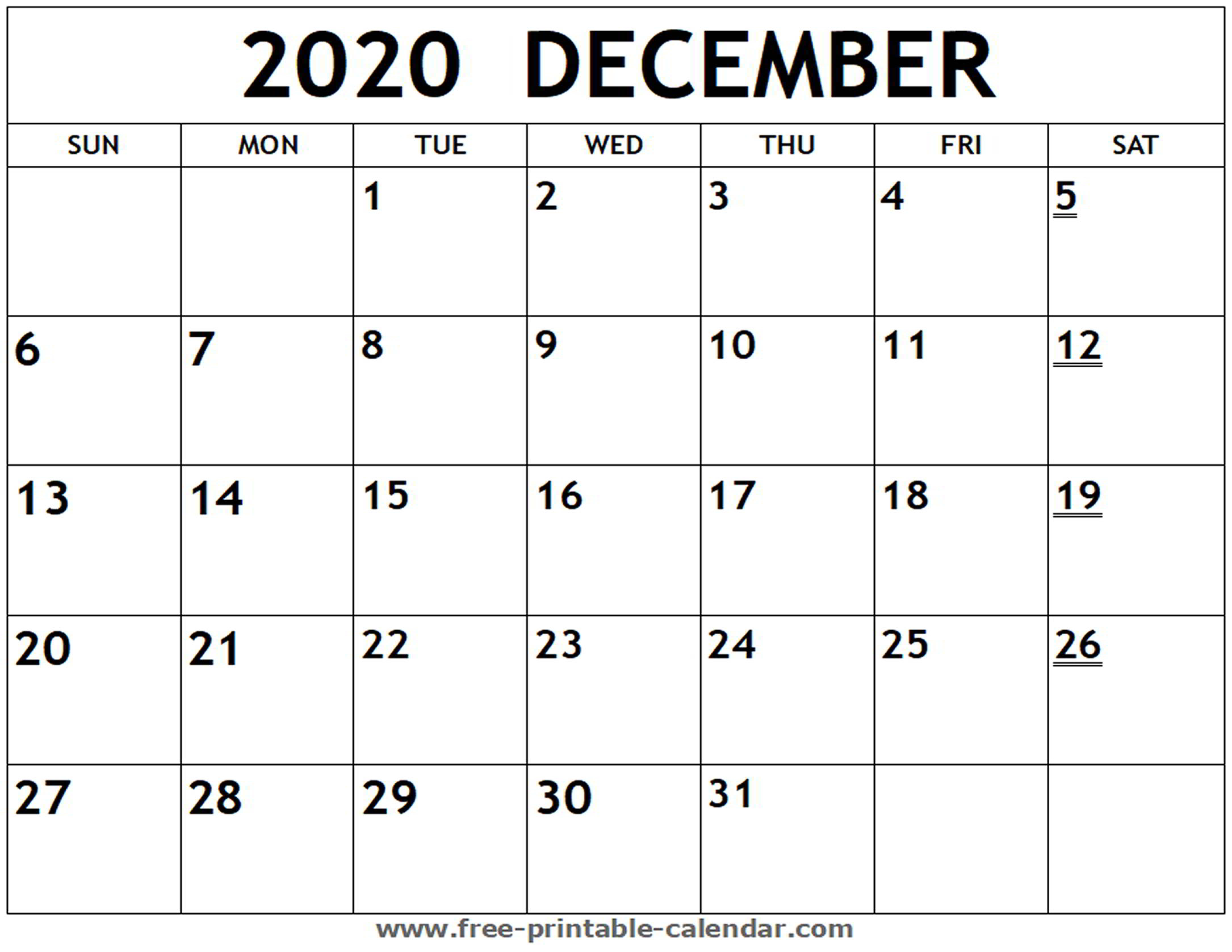 If you have any questions regarding these events, please contact us. Print A Calendar December 2020   Calendar Printables Free ...