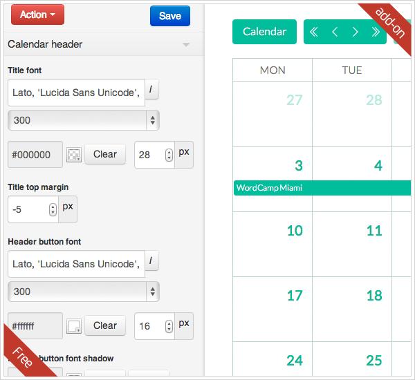Calendarize it! for WordPress 61