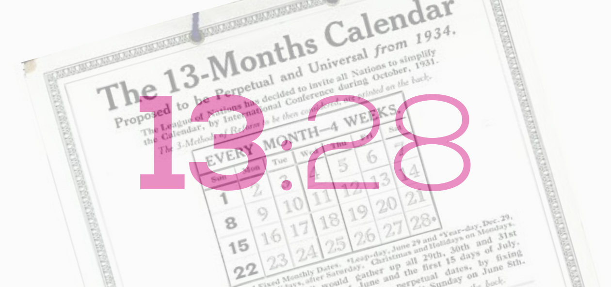 History Of The 13 Month 28 Day Calendar Calendartruth
