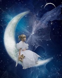 calendrier lunaire enfant au clair de la lune pierrot