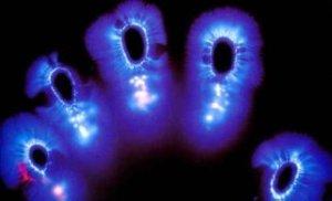 calendrier lunaire décorporation - Kirlian des doigts de la main