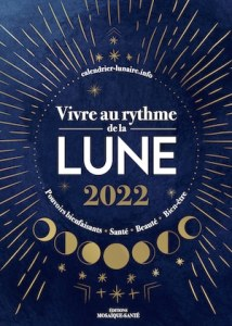 vivre au rythme de la lune - agenda 2022 couverture