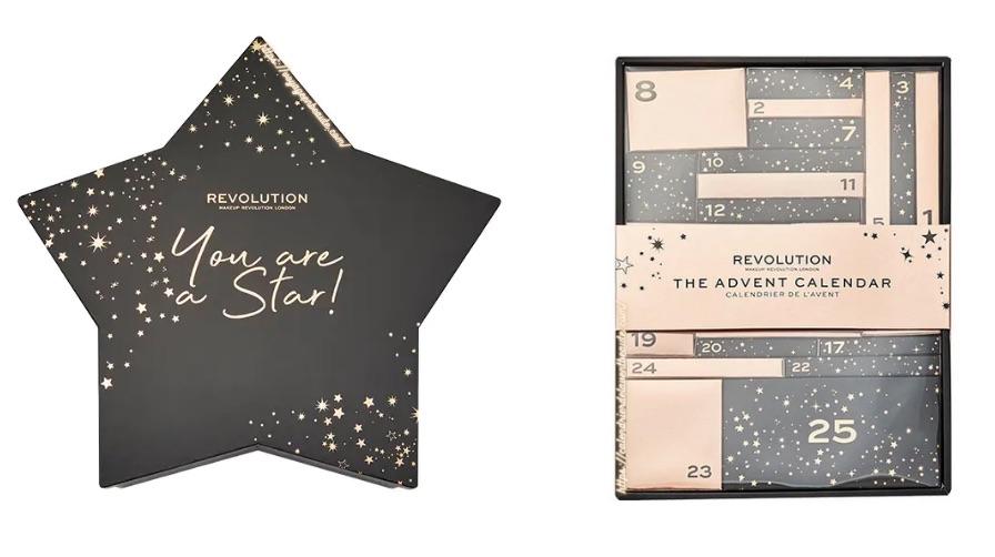 Calendrier de l'Avent beauté maquillage Make Up Revolution Beauty 2020 : avis, contenu, code promo