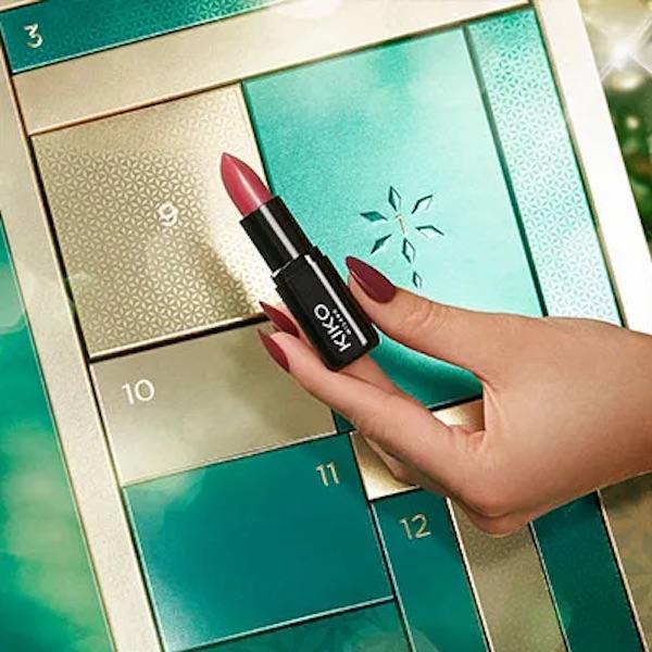 Calendrier de l'Avent Beauté Kiko Milano maquillage : avis, contenu, code promo !