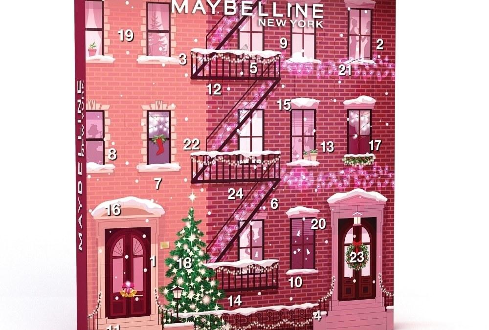Calendrier de l'Avent Maybelline New York