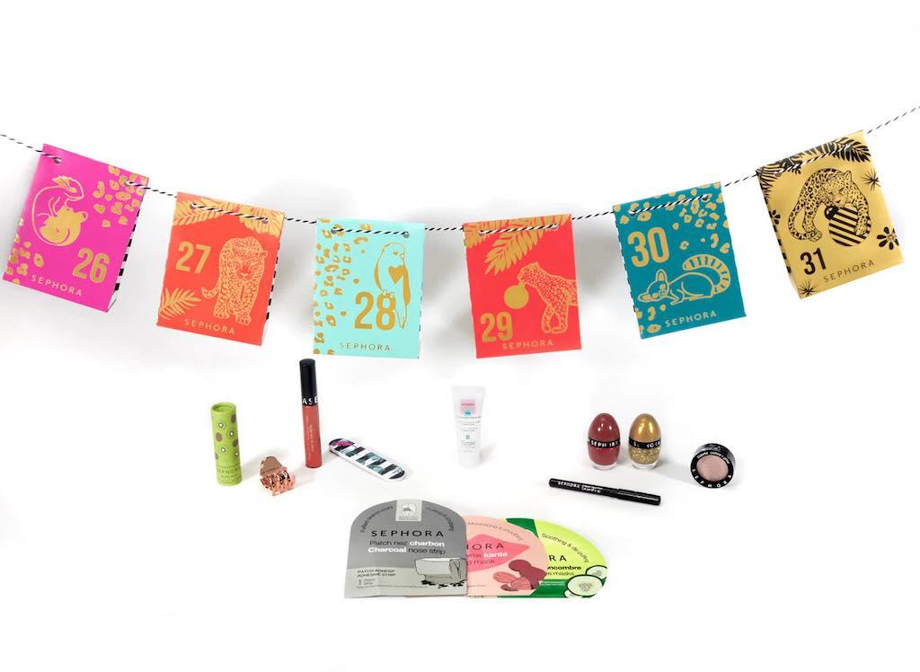 calendrier de l'après beauté Sephora 2020 : contenu, prix, code promo, moins cher
