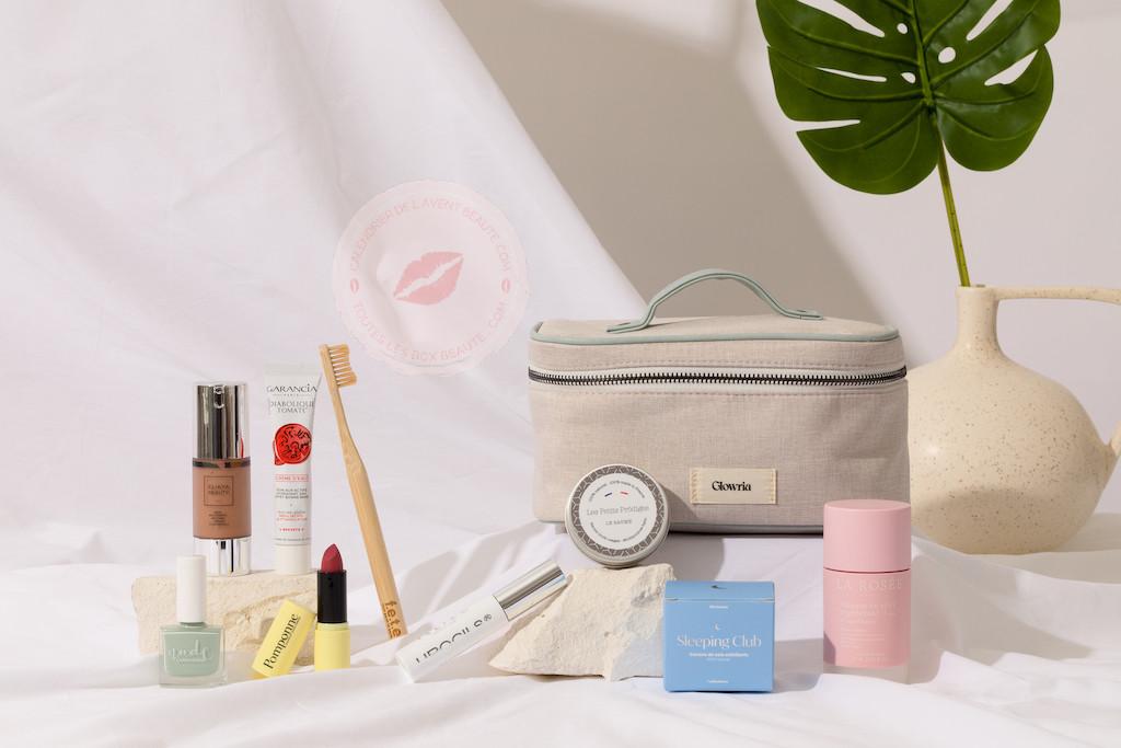 Vanity Box Glowria Juillet Aout 2021 spoiler contenu Code Promo