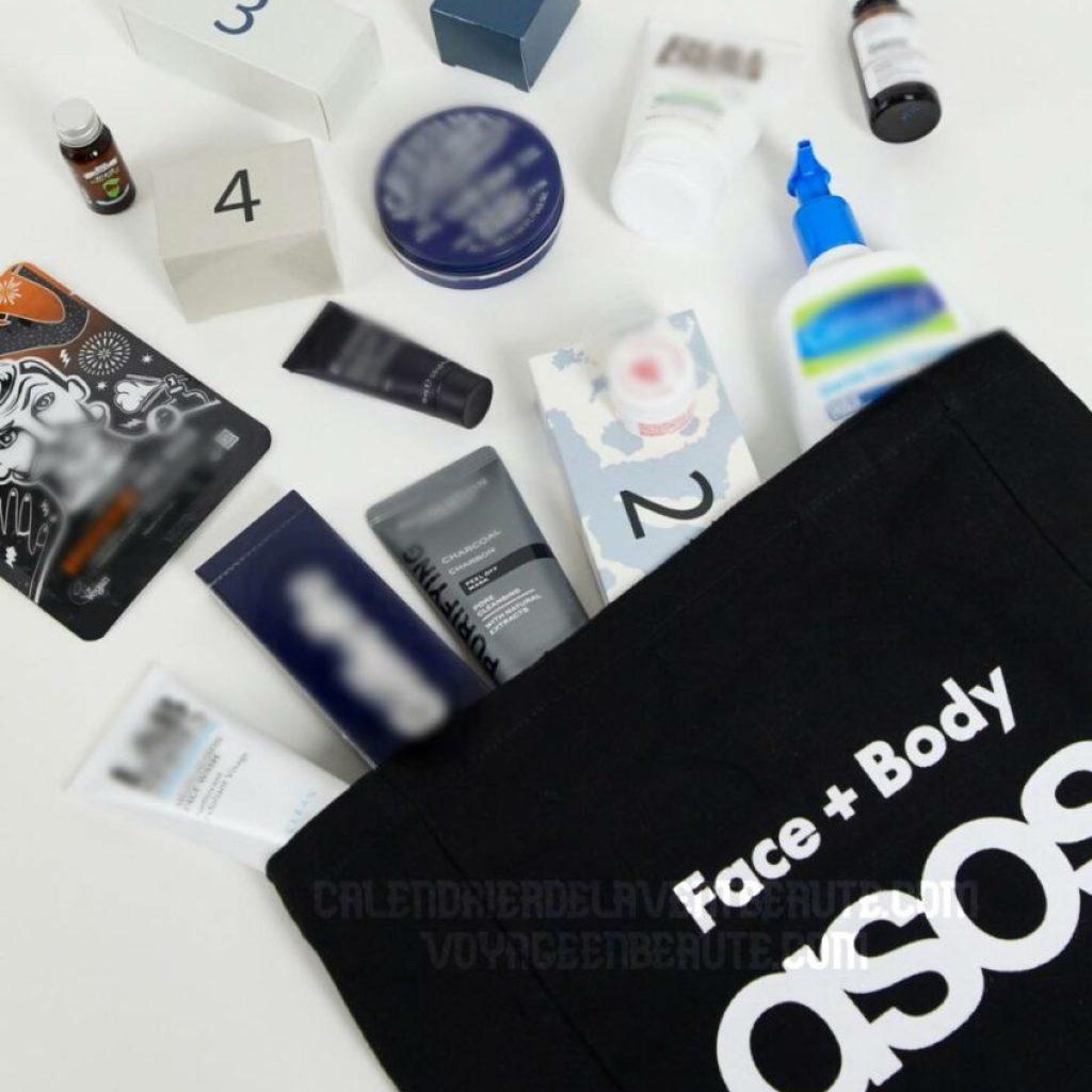 Calendrier de l'Avent Beauté pour homme Asos Grooming 2021 : spoiler, contenu, code promo, unboxing