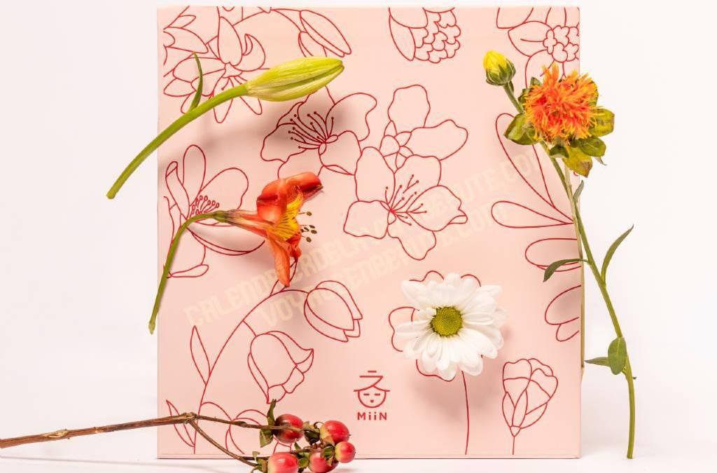 Calendrier de l'Avent Miin Korean Beauty 2021 cosmétiques asiatiques : spoiler, contenu, code promo, unboxing