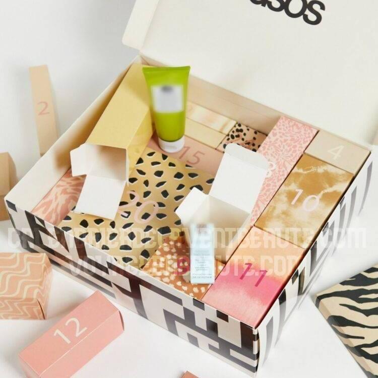 Calendrier de l'Avent Beauté Asos 2021 : spoiler, contenu, code promo, unboxing
