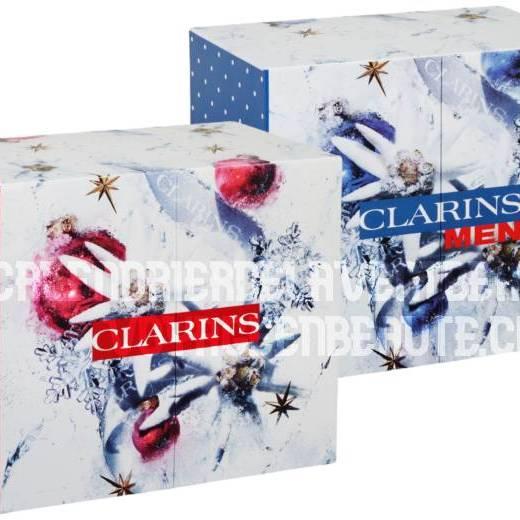 Calendrier de l'Avent Beauté Clarins 2021 : spoiler, contenu, code promo, unboxing