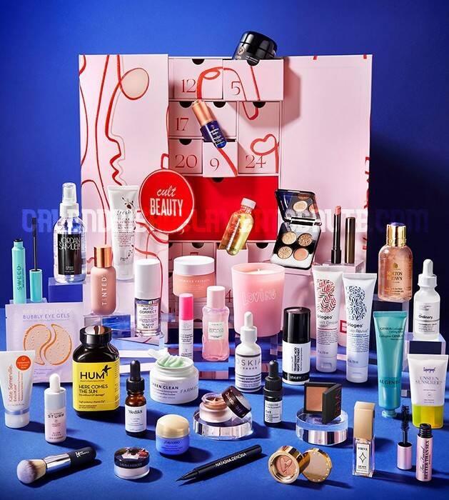 Calendrier de l'Avent Cult Beauty 2021 : spoiler, contenu, code promo, unboxing