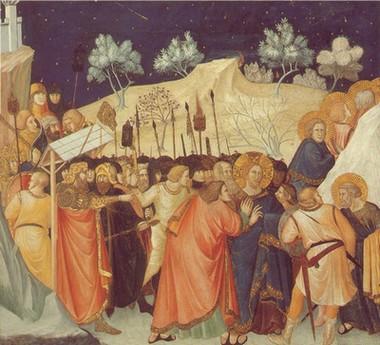 Le_baiser_de_Judas_Piero_Lorenzetti