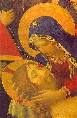 Pieta Fra Angelico (détail)