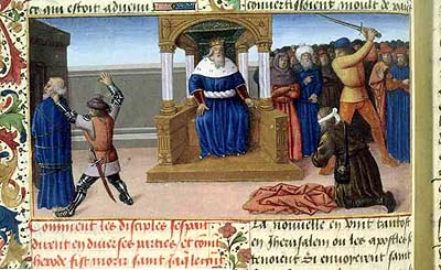 Martyre de Saint Jacques