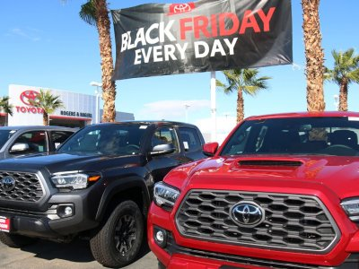Dealerships Geared Up For Black Friday with Pedal to the Metal