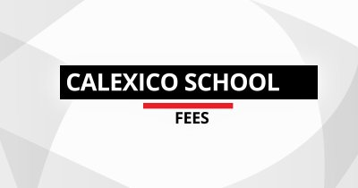 School Developer Fees