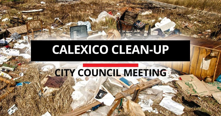 Calexico Considers Contractor to Help With Clean Up