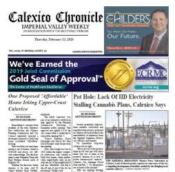 Calexico Chronicle e-Edition 2-13-20