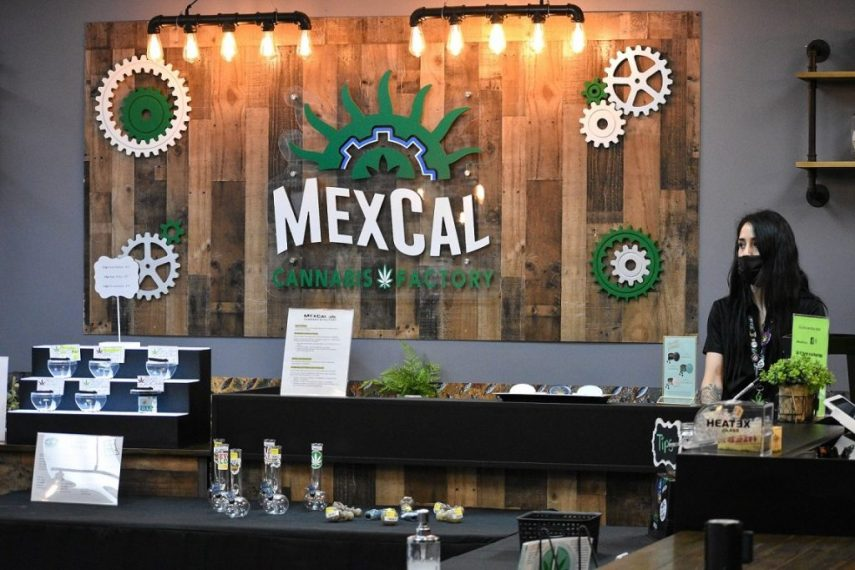 "MexCal: Calexico's ""First"" Cannabis Shop Open"