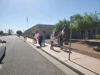 'Rally 4 the Valley' Protestors Demand County Re-Open Businesses