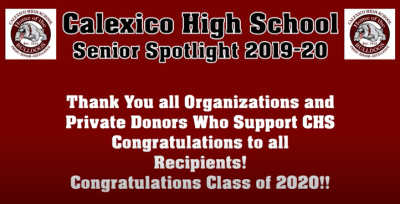 Calexico Education Foundation Gives to Scholarships