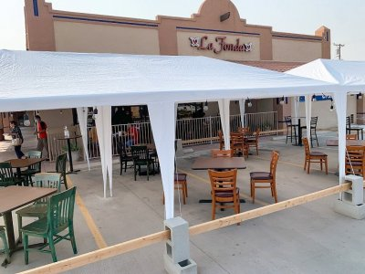 Dining in Imperial Valley Means Going Outdoors for the Time Being