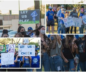 'Let Them Play': Students, Parents Send Strong Message at Sports Rally