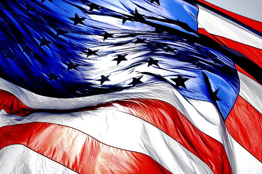 blowing-american-flag