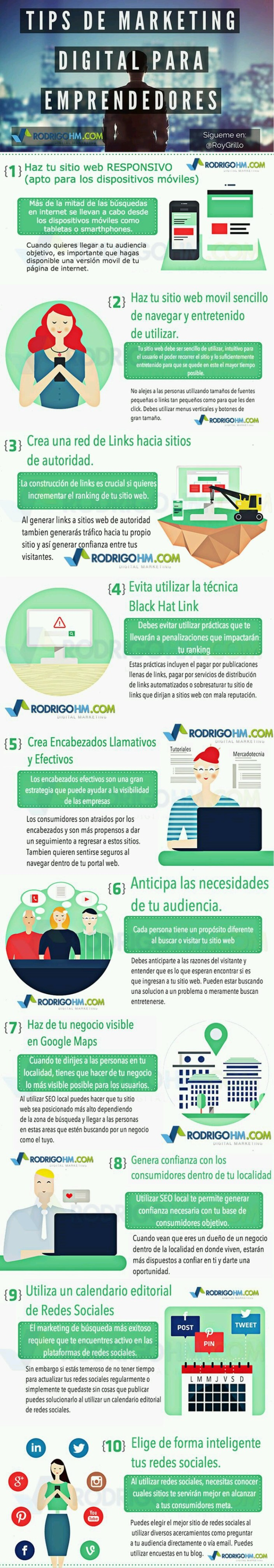 emprendedor, entrepreneur, infografía, marketing digital, pinterest, pyme, startup, tips, Seo local, neuromarketing, efecto zeigarnik, campaña teaser, viralizacion, online, offline, serge moscovici, paralisis de eleccion, up selling, cross selling, small data