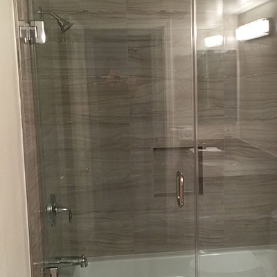 California Frameless Shower Door  Enclosures Los Angeles