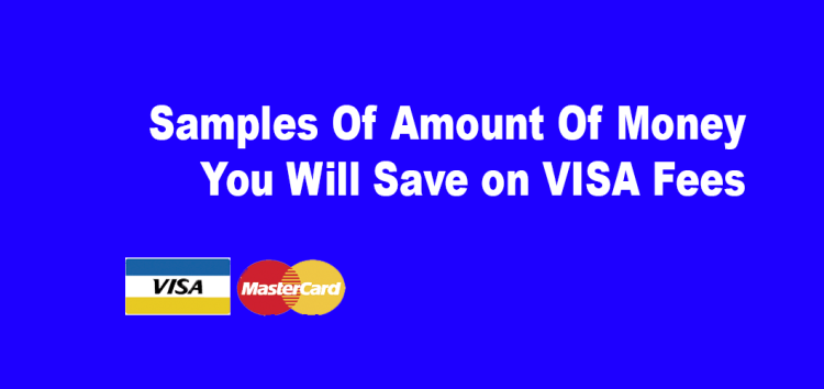 Samples Of Amount Of Money You Will Save on VISA Fees Visa MasterCard Rates canada Based on  $10,000 - Based On $20,000, $50,000 As above our rates are 1.19%  Visa Our Non-Qual Surcharge is 0.04% There are no swipe fee--- or any other monthly hidden fees   Total Monthly Savings $70.00 Total Annual Savings $840.03 Savings Over 4 Years $3,360.12 ------------- Accept debit, Accept debit Ontario Canada, credit card processing, debitmachine Credit Card Processing, home business canada, Interac Ontario Canada, merchant account Ontario Canada, Non Qualified Cards, Ontario Canada credit card processing, Ontario Canada Debit Machine, Payment Processing Ontario Canada, POS terminals Ontario Canada, small business canada, small businesses, Visa MasterCard Rates canada