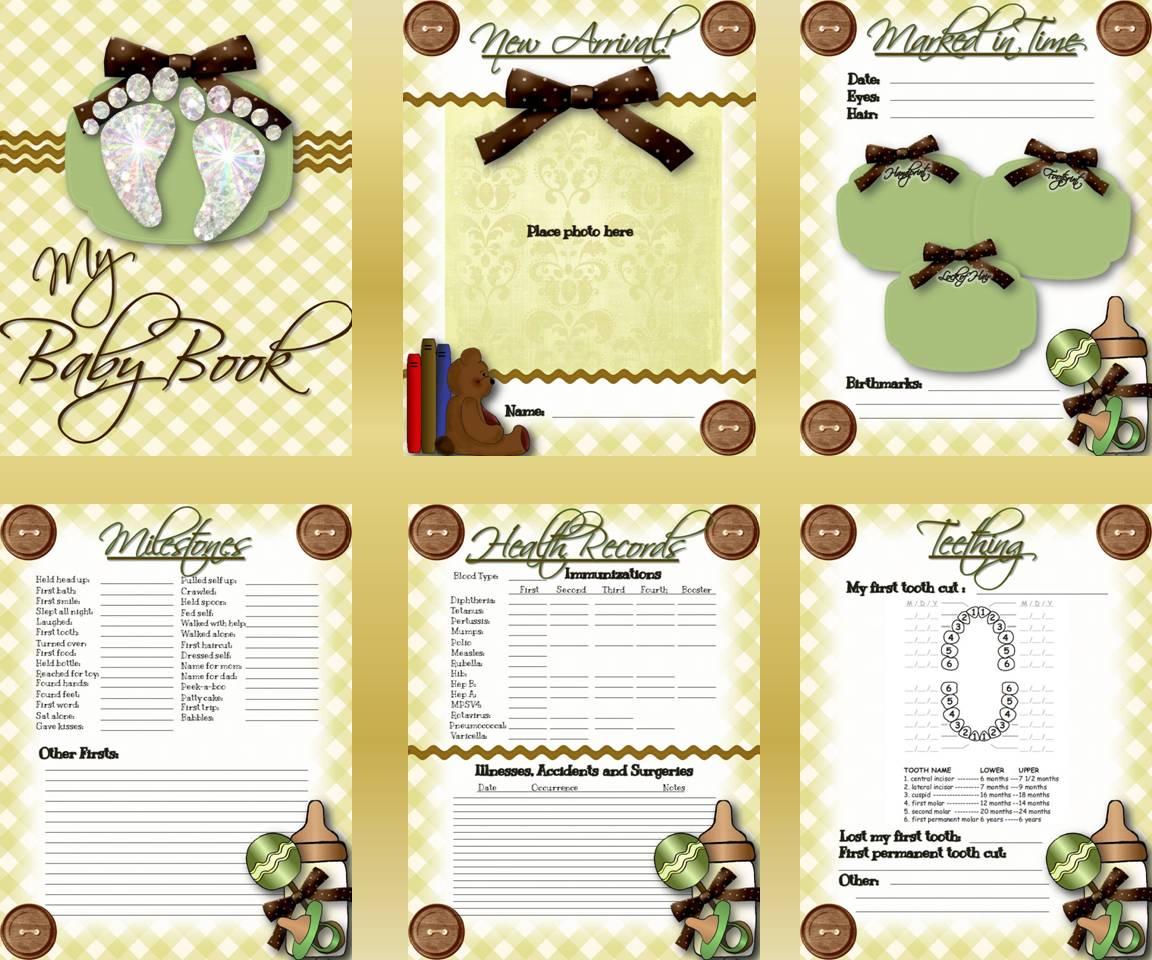 Write It Down Baby Books And Memories Calgary Birth Essentials