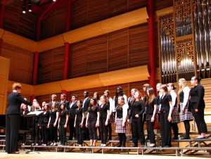= choir singing