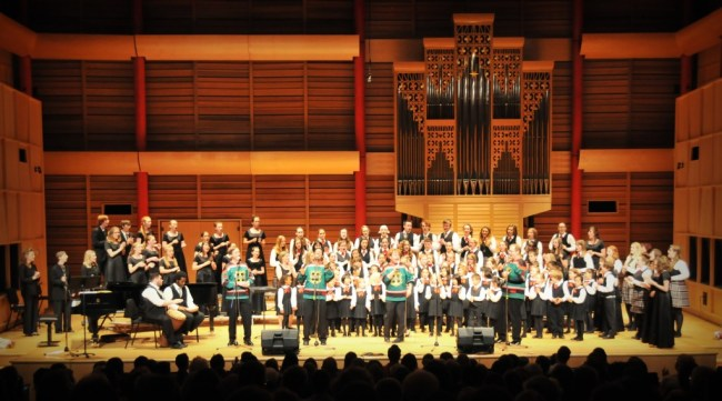 Calgary Children's Choir and the Heebee Jeebees and Edmonton Young Voices