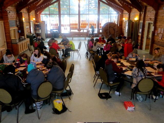 Calgary Children's Choir Winter Retreat