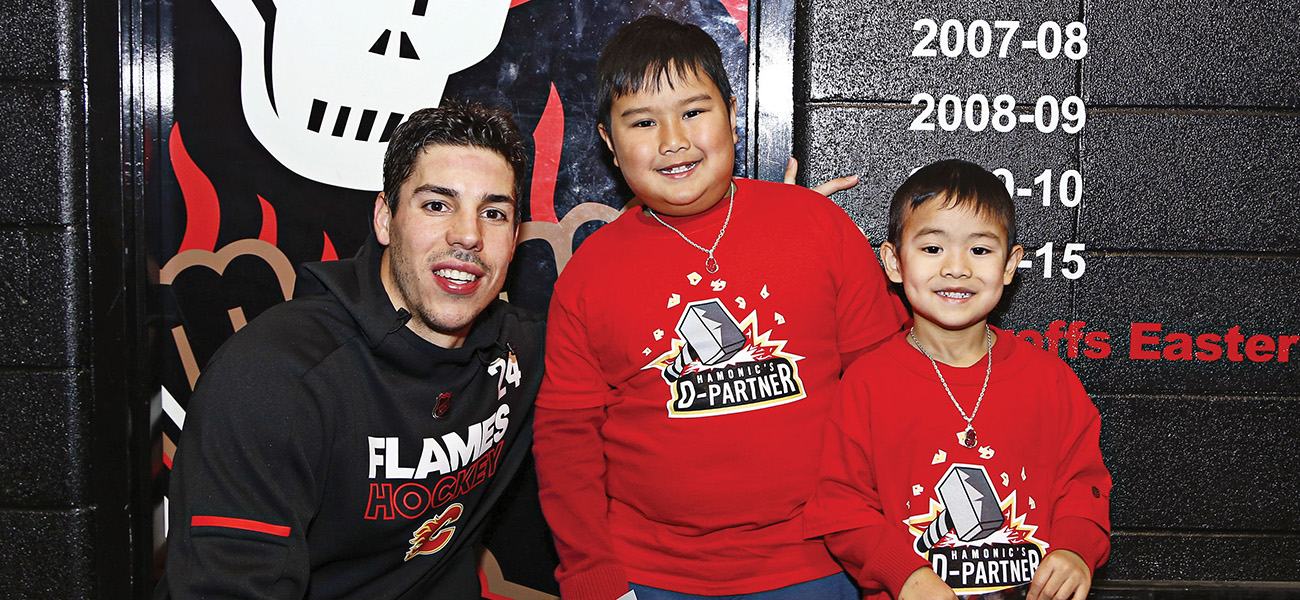FLAMES CELEBRATE SUPPORT FOR INITIATIVES - Calgary Flames Foundation f8927038e