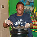 Taste of Jamaica volunteer