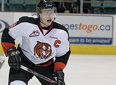 Medicine Hat Tigers' Hunter Shinkaruk
