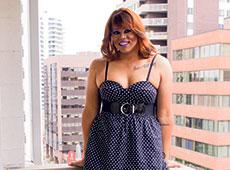 Drag Queen Felicia Bonee