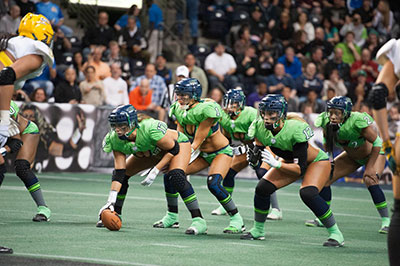 Mitch Mortaza, LFL fonder and chairman would like the sport to be up for Olympic consideration one day.