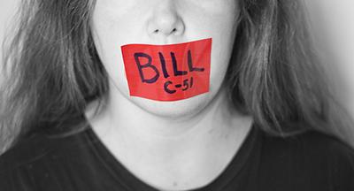 Bill C-51 cut