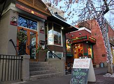 Higher Ground coffee shop